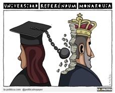 Las universidades deciden República o Monarquía