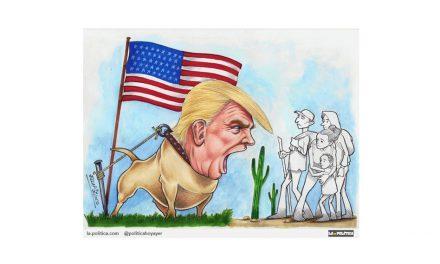 """La gobernadora del estado de Nuevo México desafía la orden de Trump de desplegar a la Guardia Nacional en la frontera sur: """"No participaré en la farsa del presidente de infundir miedo en la frontera"""""""