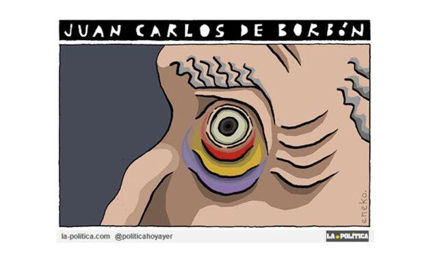 El ojo morado de Juan Carlos de Borbón