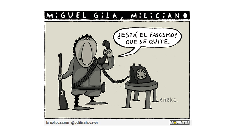 Miguel Gila, el miliciano