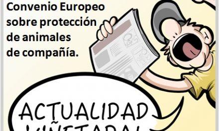 #ActualidadViñetada 10-05-2017 Especial: Prohibido el corte de cola en perros, tras la aprobación por unanimidad del Convenio Europeo en el Senado