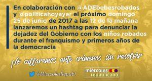 Campaña #NuestrosBebésRobados