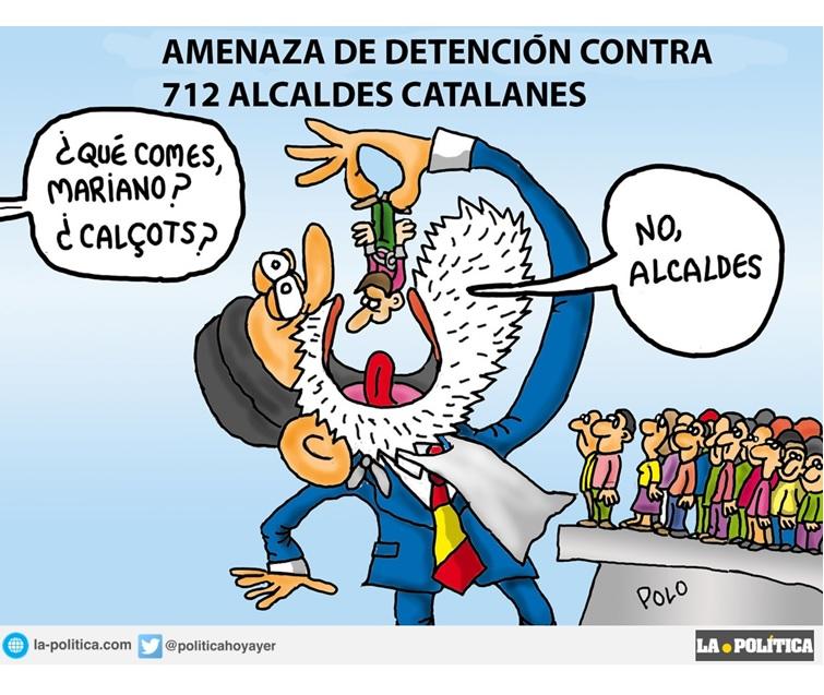 Tácticas judiciales sin precedentes en democracia para parar el referendum de Cataluña ¿Soluciones políticas?