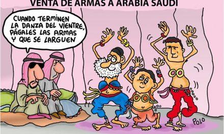 PP PSOE y C´s sellan sus labios ante las violaciones de derechos humanos de Arabia Saudí y aprueban venta de armas