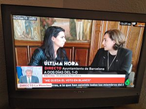 Ada Colau - Referéndum Cataluña