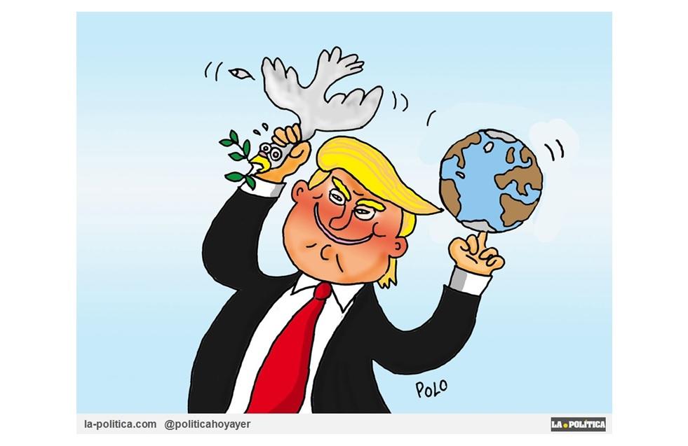 """El regalo de Navidad de Trump para el Estado Islámico y para los señores de la venta de armas de guerra: """"El reconocimiento de Jerusalén como capital de Israel"""""""