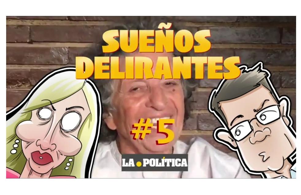 """Sueños Delirantes #5 """"Carmen Lomana tiene un accidente y hay un testigo de excepción, Íñigo Errejón"""""""