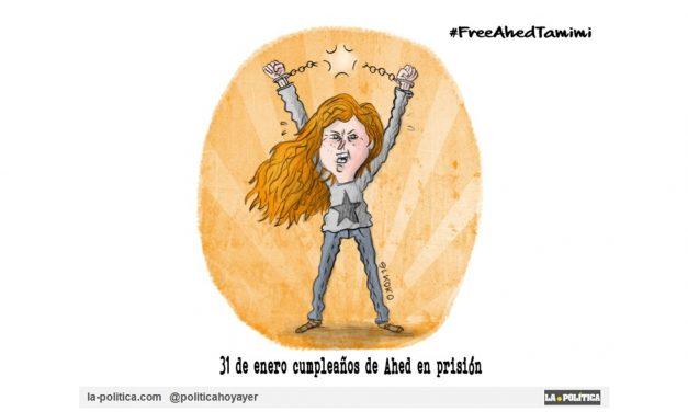 """La joven palestina Ahed Tamimi, considerada la """"Nueva Juana de Arco"""", tiene que pasar hoy, el día de su cumpleaños, en prisión"""