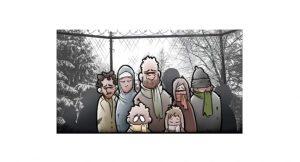 Solucionando el problema de los refugiados Ilustraciones y vídeo Ben