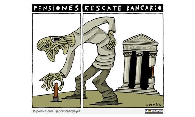 ¿Barra libre para la Banca? Los pensionistas se niegan a seguir pagando la cuenta