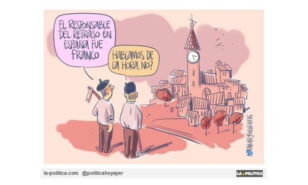 España, un país con horario nazi