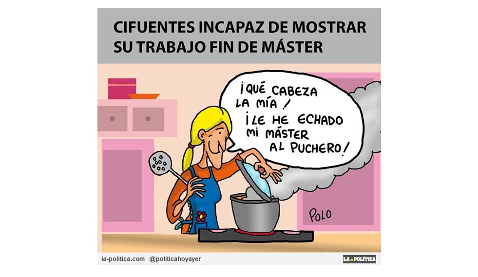 Cristina Cifuentes no ha acudido hoy a la toma de posesión del nuevo Rector de la Universidad de Alcalá de Henares ¿La Presidenta Madrileña haciendo pellas?