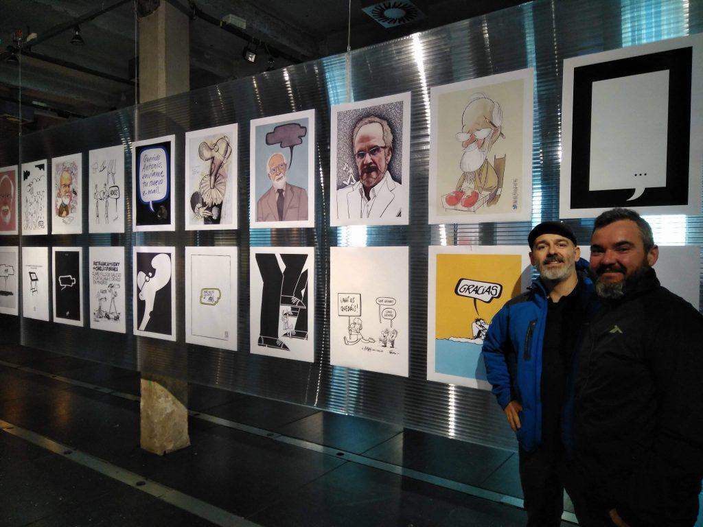 """Exposición """"Homenaje a Forges"""" en Matadero Madrid"""