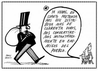 Viñeta Chumy Chúmez