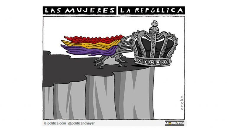 Los logros feministas en la II República Viñeta Eneko Artículo Caracola
