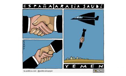 ¿Conseguir empleos vendiendo armamento a Arabia Saudí para matar a civiles en Yemen? ¡No en mi nombre!