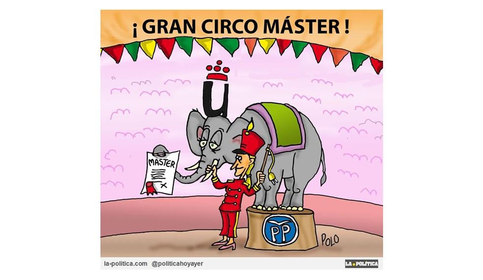 """""""Gran Circo Máster"""". Ciudadanos ahora pide la dimisión de Cifuentes"""
