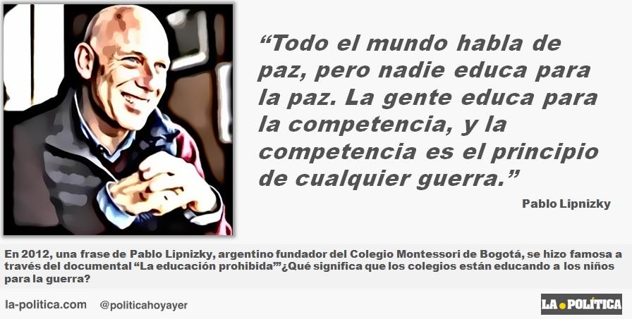 Pablo Lipnizky Todo El Mundo Habla De Paz Pero Nadie