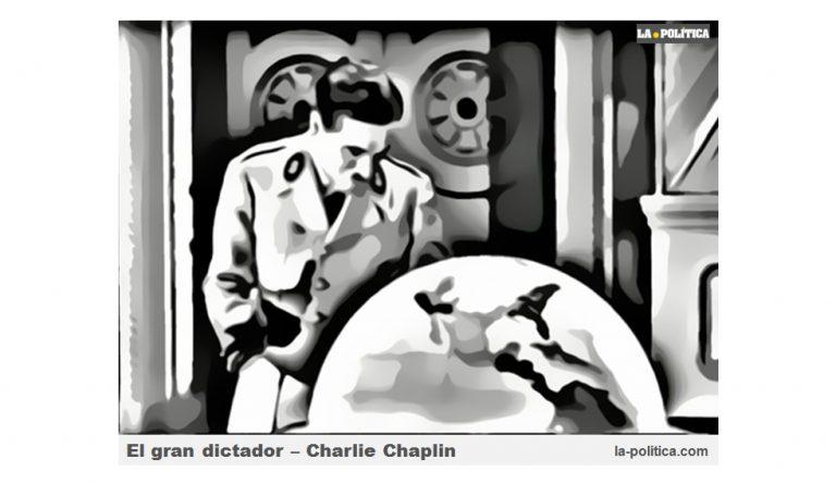 """""""El gran dictador"""" la primera película sonora de Charlie Chaplin"""