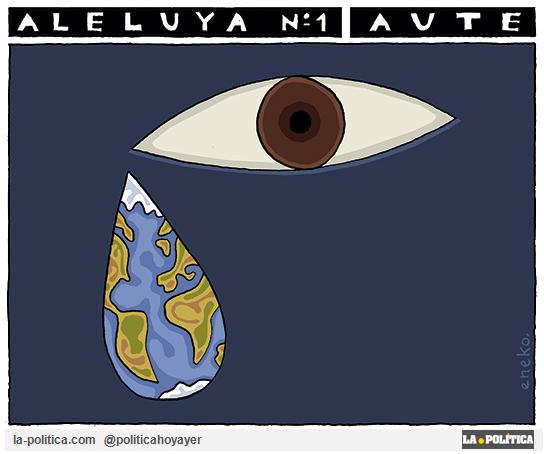 Luis Eduardo Aute: Letra de Aleluya Nº 1 Ilustración Eneko