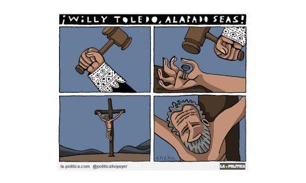 ¡Willy Toledo, alabado seas!