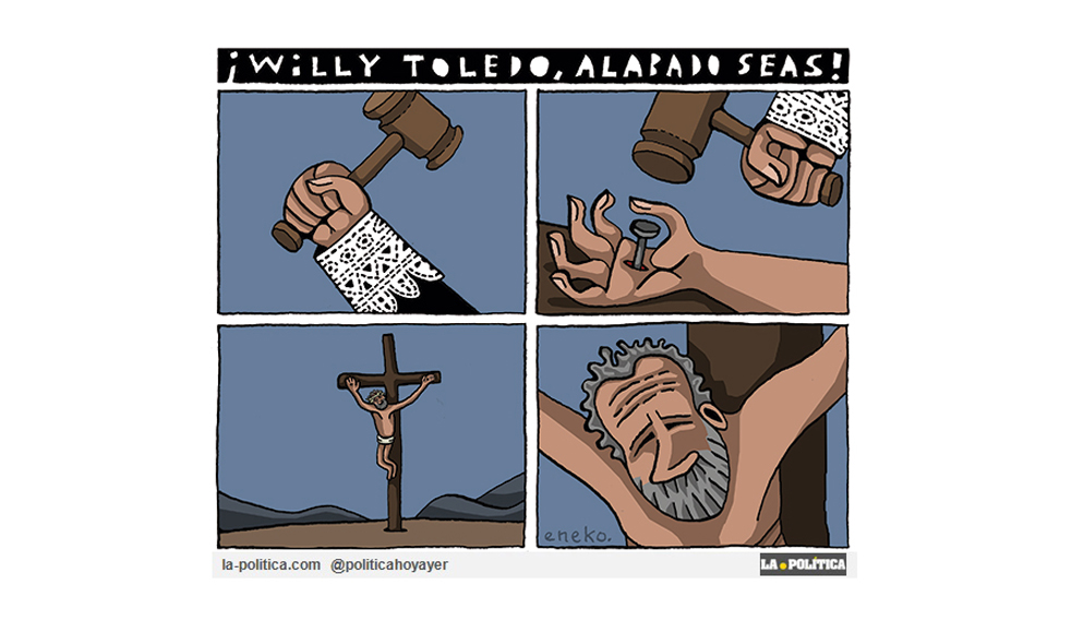 ¡Willy Toledo, alabado seas!