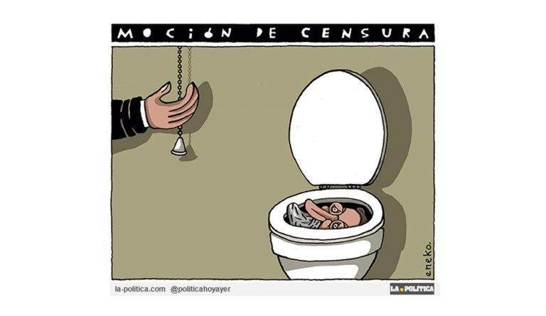 OPINIÓN   Por dignidad, una moción de censura que todo lo cambie Artículo Rafa Morata Viñeta Eneko