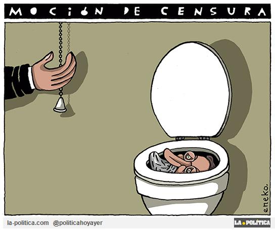 OPINIÓN | Por dignidad, una moción de censura que todo lo cambie Artículo Rafa Morata Viñeta Eneko