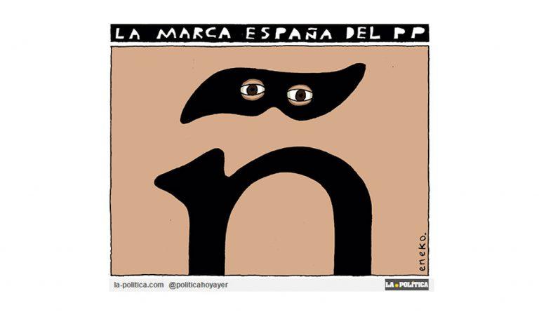 La marca España del PP se escribe con diéresis Viñeta Eneko Artículo Simone Renn