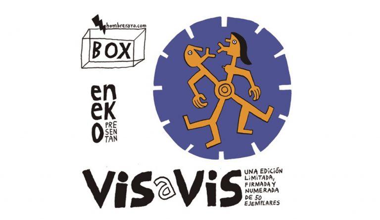 Eneko presenta Vis a Vis #Exposición de Piezas de cartón troquelado y Serigrafías 29-30 junio y 1 de julio. #Madrid en Taller Hombre Rayo