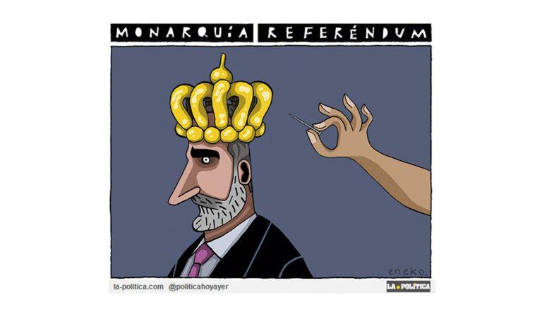 Y Vallecas votó por la República. Resultados Artículo Caracoloa Viñeta Eneko