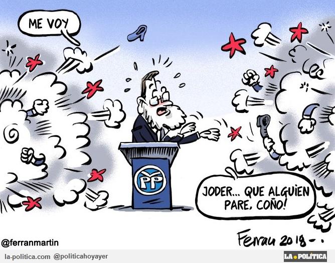 Viñeta de Ferran Martín - Rajoy