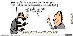 El comisionista real Viñeta El Petardo
