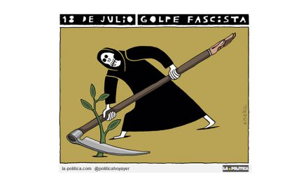 18 de Julio; relato de un golpe de Estado