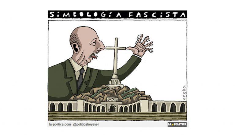 Basta de tolerancia con el fascismo Artículo Caracola Viñeta Eneko