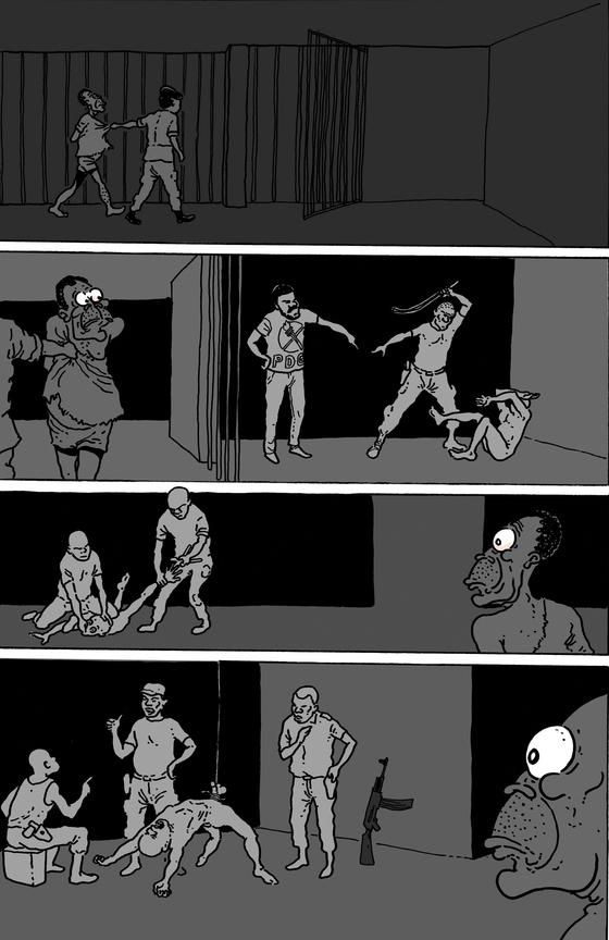 """Dibujos de """"La pesadilla de Obi"""""""