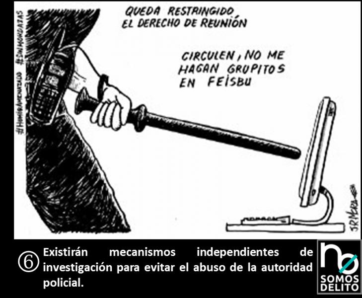 Viñeta JR Mora - Ley Mordaza
