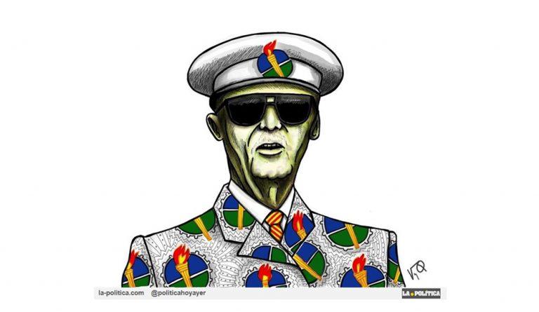 «Partido democrático» Artículo y viñetaRamón Nsé Esono#JamónyQueso@Guineaeslomejor #GuineaEcuatorial #TeodoroObiang