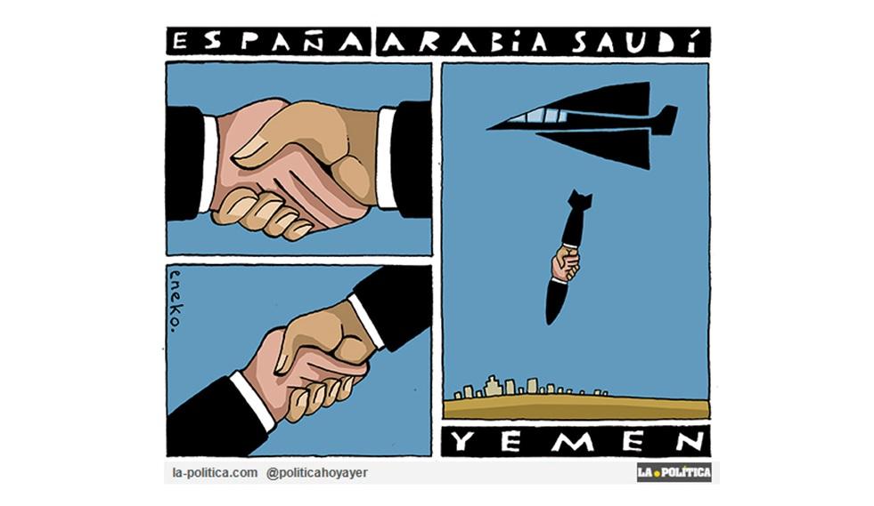 La coalición liderada por Arabia Saudí, a la que España despacha alegremente armamento, asesina a niños de un autobús escolar en Yemen