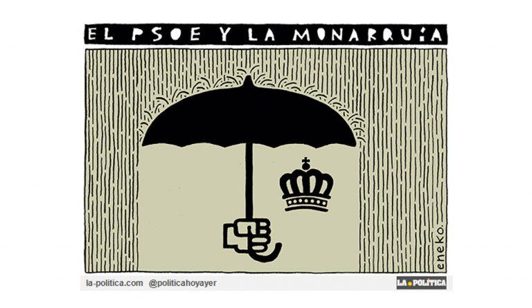 OPINIÓN | Pedro I, el Monárquico Artículo Caracola Viñeta Eneko