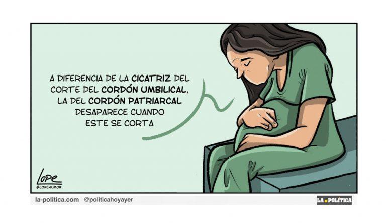 Ante el golpe de mano de la Iglesia con el aborto en Argentina, se desata el número de apostasías en el país Artículo Simone Renn Viñeta Lope