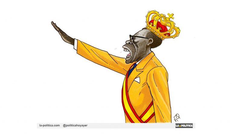 OPINIÓN | «Naranjito Español» Artículo y viñetaRamón Nsé Esono#JamónyQueso#GuineaEcuatorial #TeodoroObiang
