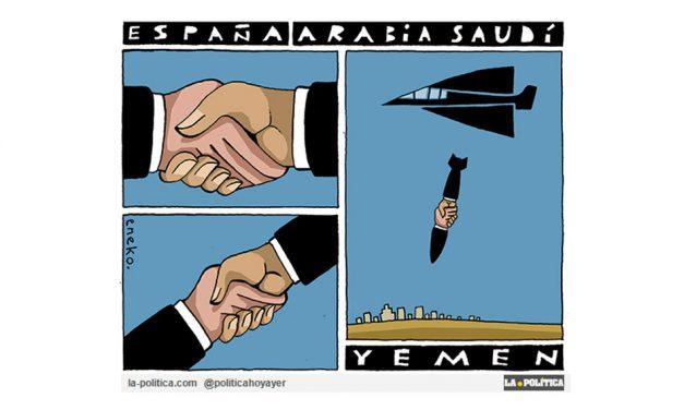 Un barco con armamento para Arabia Saudí que seguirá torturando las vidas de civiles de Yemen salió del puerto de Santander. ¿Es partícipe España de crímenes contra la Humanidad?