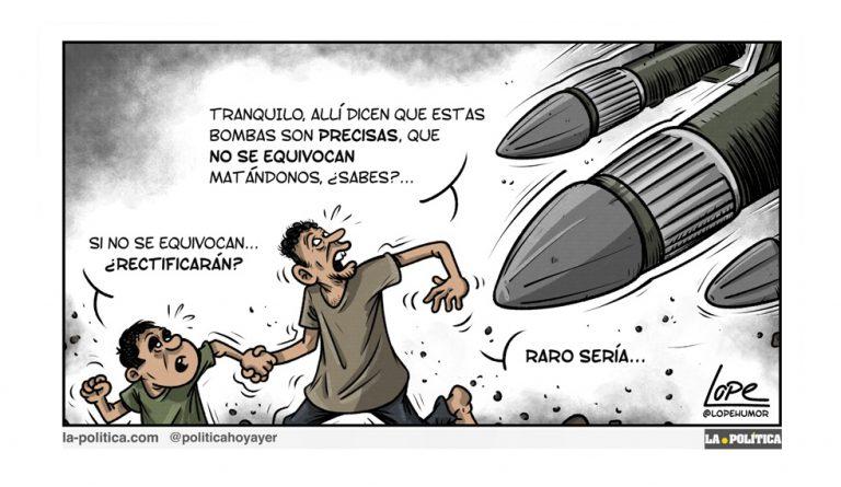OPINIÓN | Contra la venta de armas, que las carga el diablo Artículo Víctor Arrogante Viñetas Lope y Polo