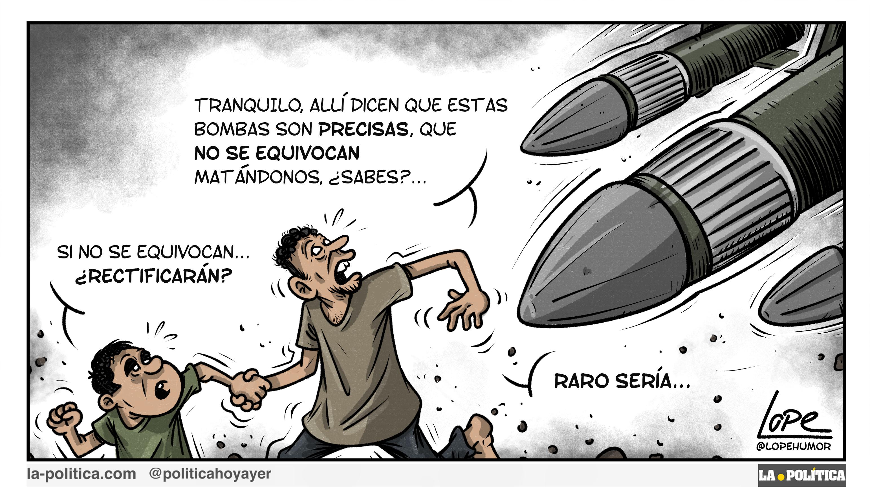 OPINIÓN | Contra la venta de armas, que las carga el diablo Artículo Víctor Arrogante Viñeta Lope