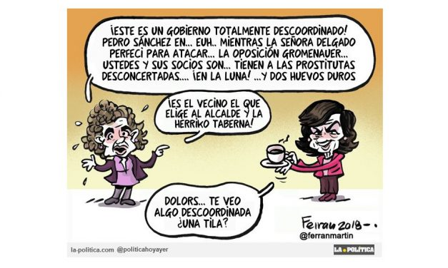 """La portavoz del PP, Dolors Montserrat, sufre un ataque de """"verborrea"""" en el Congreso"""