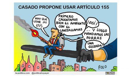 Casado pide reinstaurar el 155 al tiempo que ANC amenaza a Torra si no avanza hacia la República Catalana