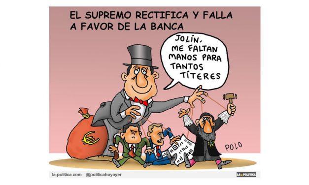 España se cubre de protestas contra el Supremo y la banca por el impuesto de las hipotecas