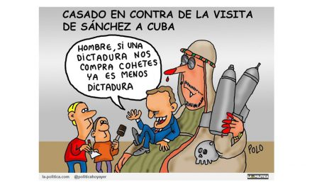 """Casado critica la visita de Pedro Sánchez a """"la dictadura"""" de Cuba"""