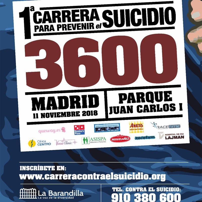 Carrera contra el suicidio
